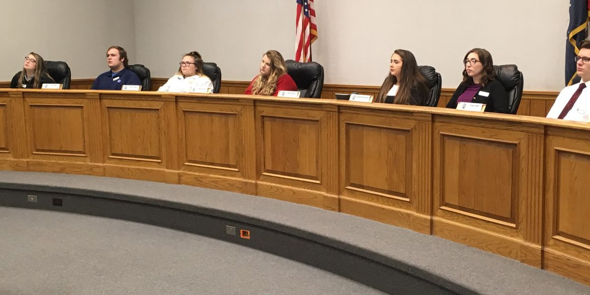 Students learn about civil service at Cape Girardeau Youth in Government Day