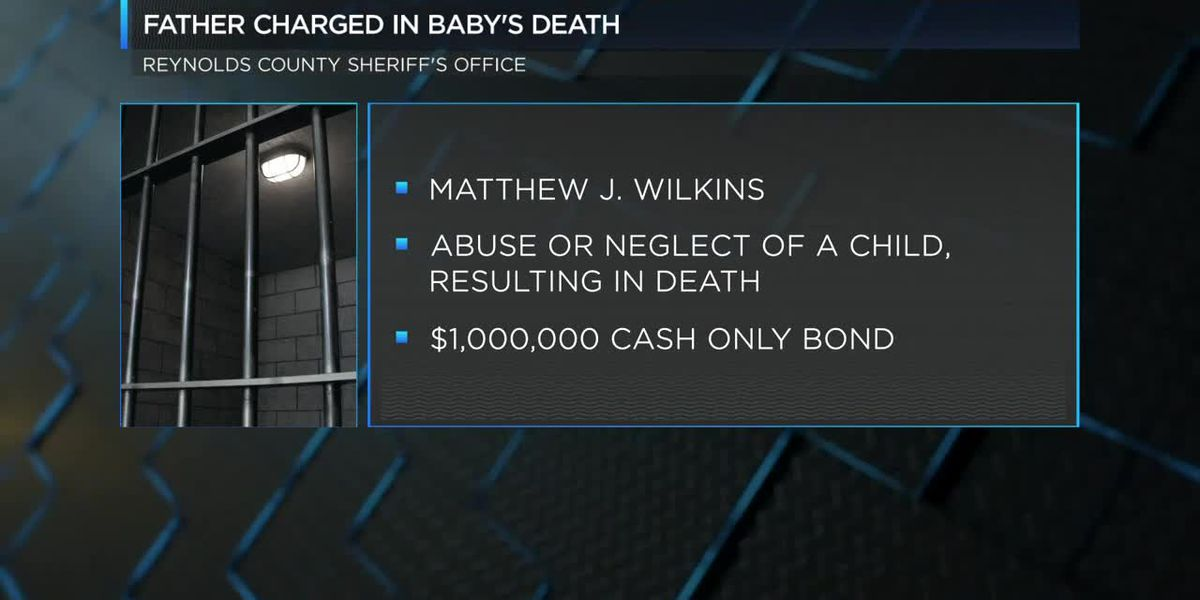 Piedmont, MO father charged after death of 2-month-old