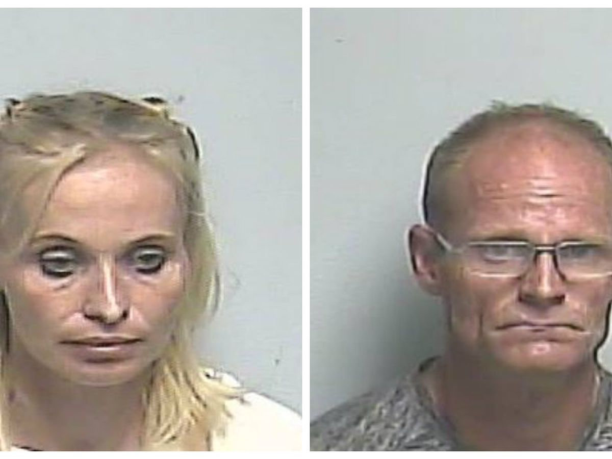 Couple in camper arrested on crystal meth charges
