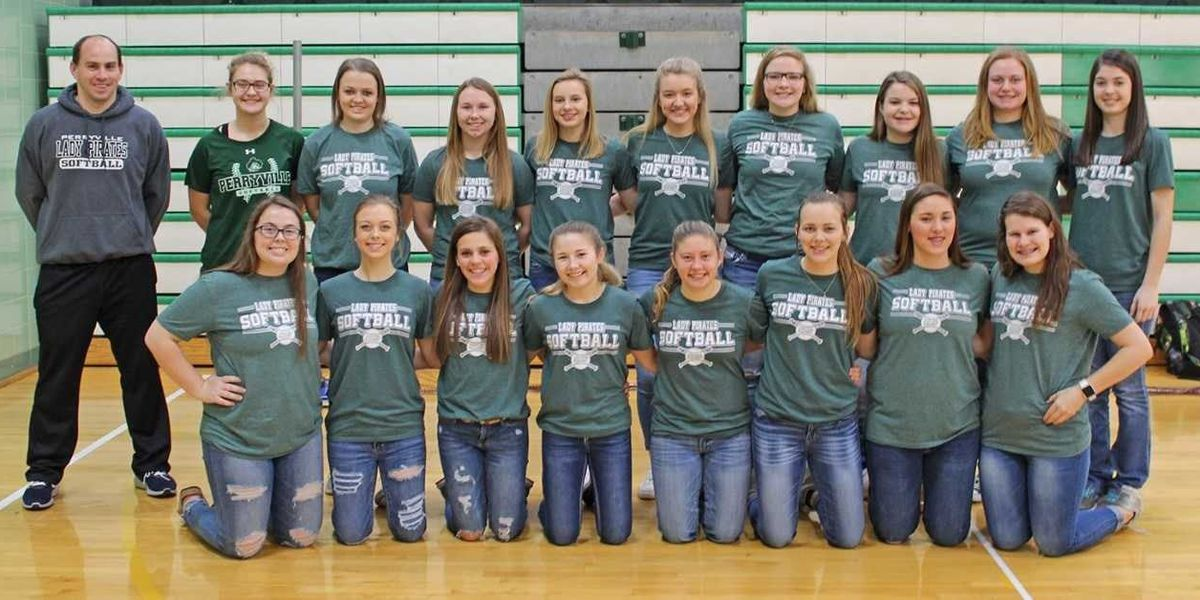 Lady Pirates softball team earn Academic All-State