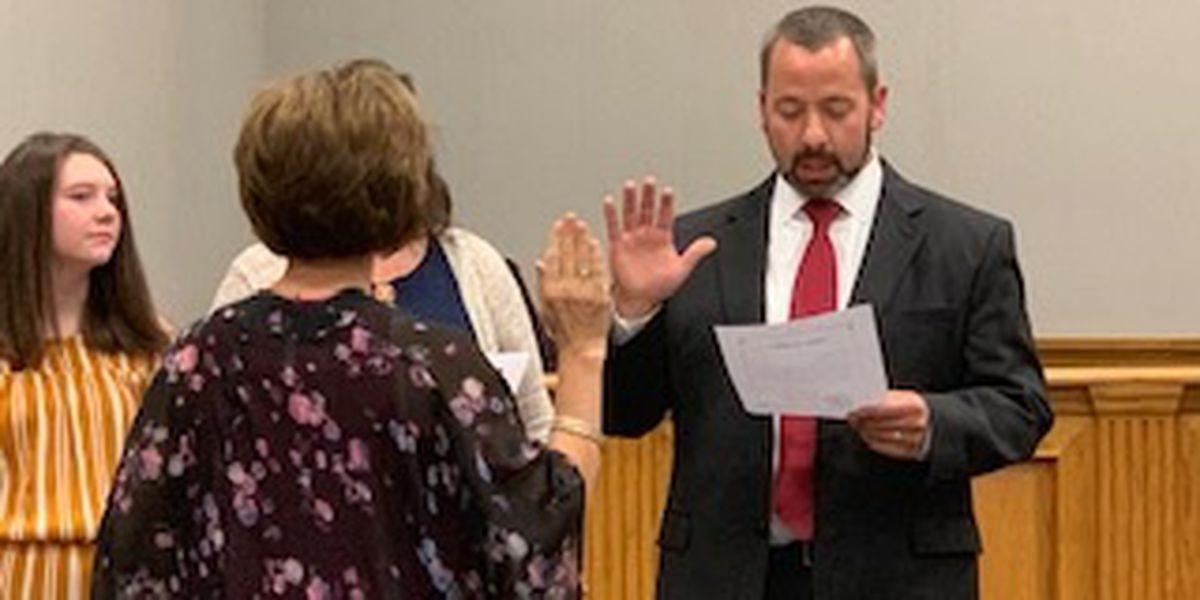 Nate Thomas sworn in as Ward 3 Cape Girardeau council member
