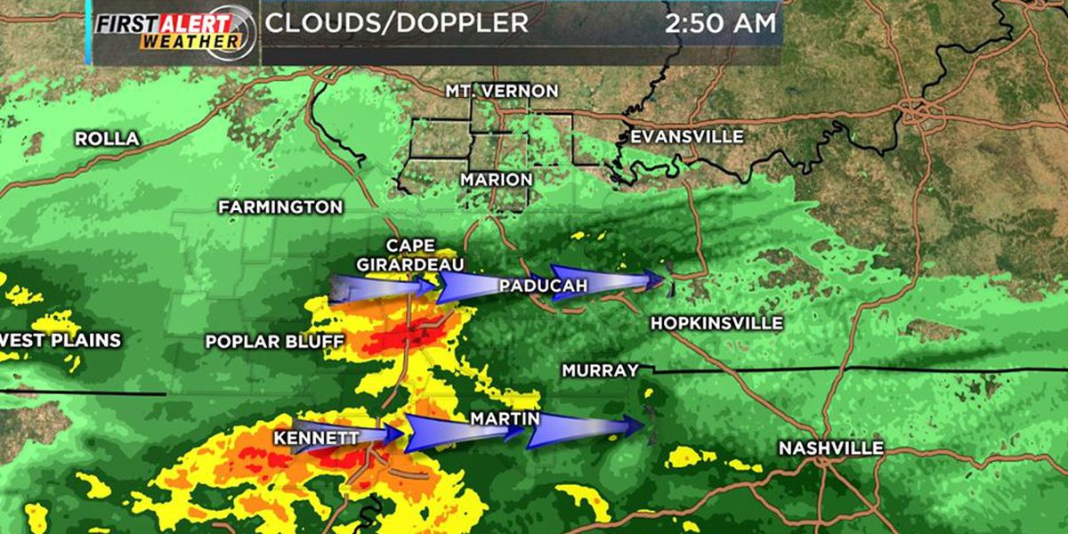First Alert: Soggy morning, frost possible overnight