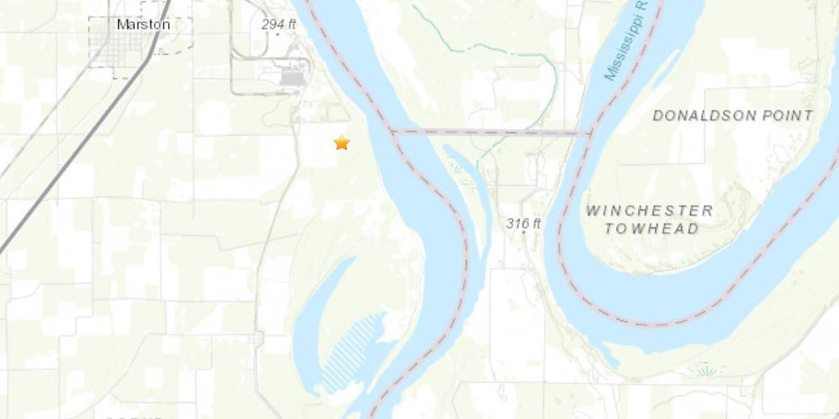 2.0 magnitude quake measured in southeast MO