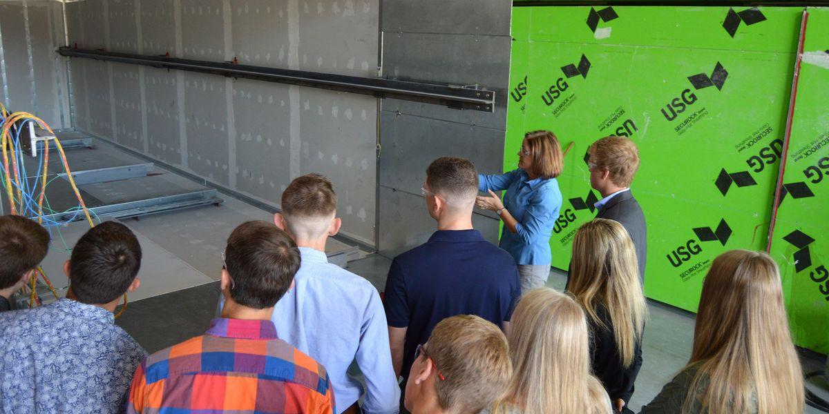 Area students tour Phoenix Modular Elevator