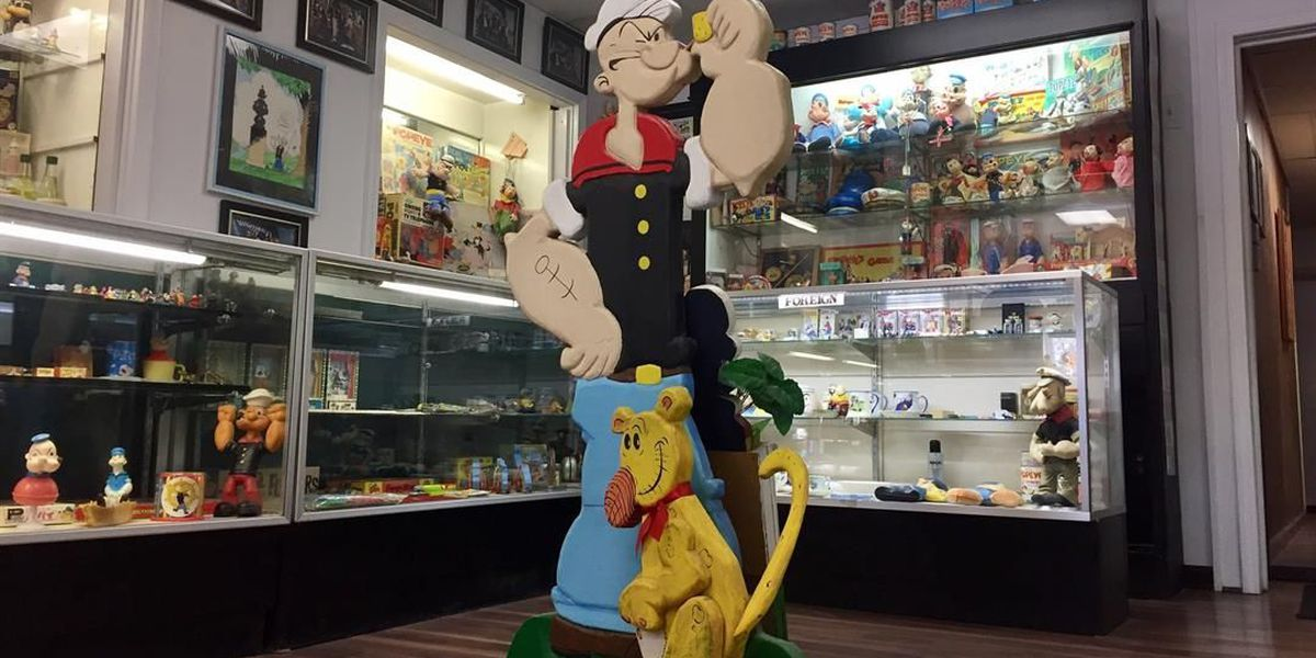 This southern Illinois town is the official home of Popeye