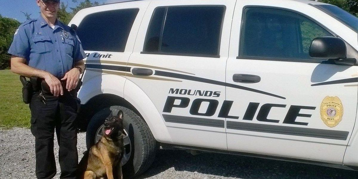 Mounds police dog to get body armor