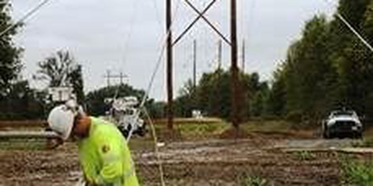 Crews building 22 miles of powerlines around Rend Lake area