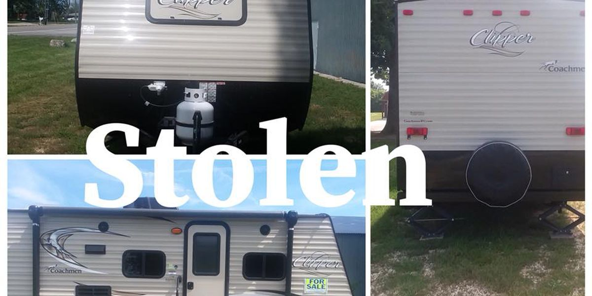 Camper reportedly stolen in Cape Girardeau Co.