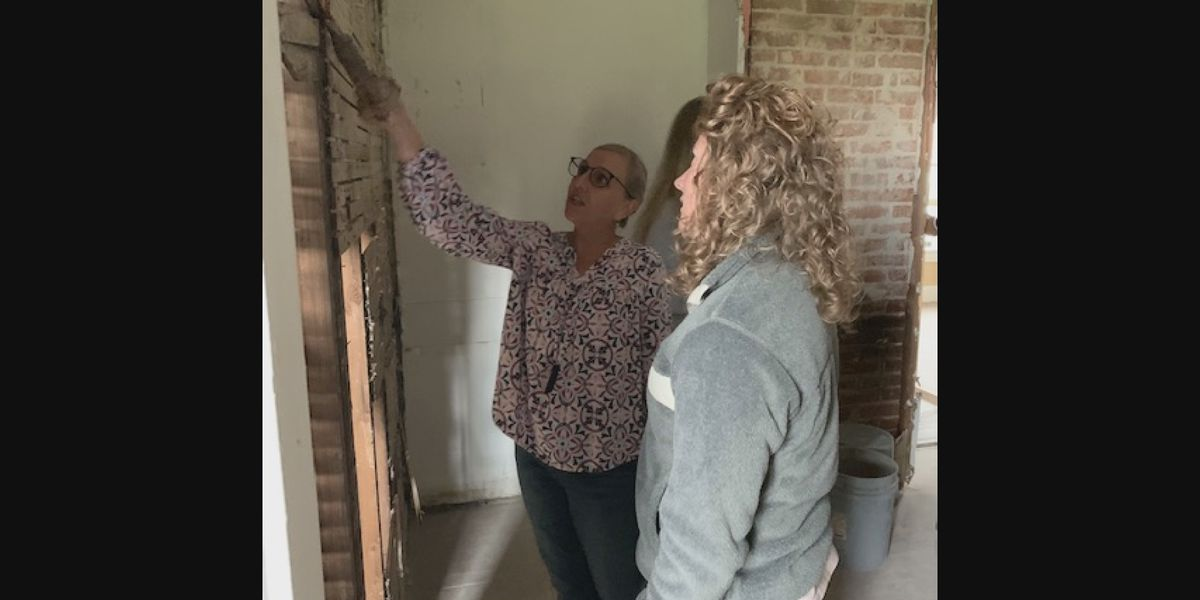 Interior design students make floor plans for home in Cape Girardeau