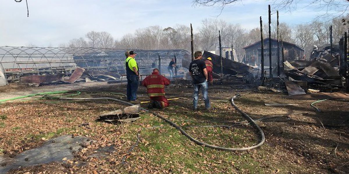 Crews battled fire in Union Co., Ill.; one of several in Heartland as burn bans issued due to wind