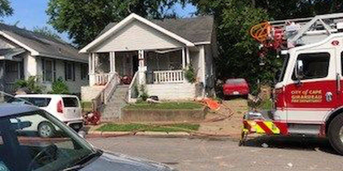 Crews called to basement house fire in Cape Girardeau, MO
