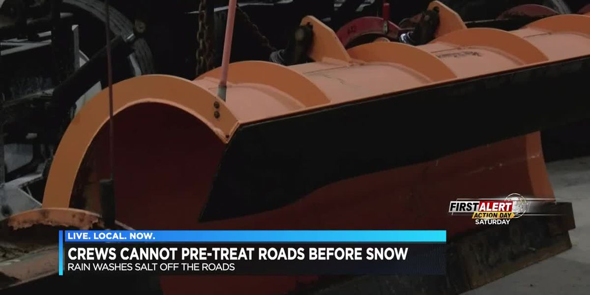 Crews not pretreating roads before snow