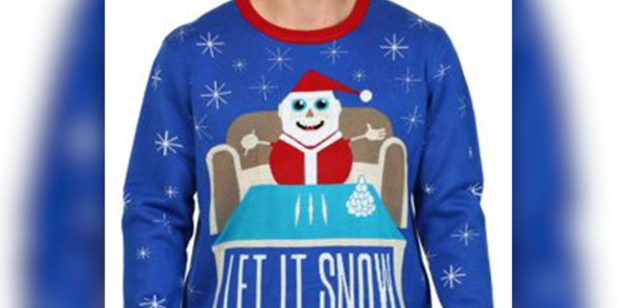 Walmart apologizes for Santa sweater with drug reference