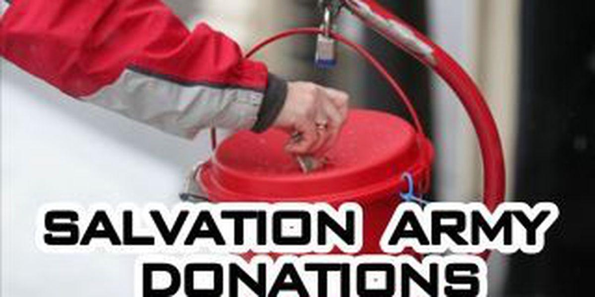 Salvation Army still $100,000 under goal