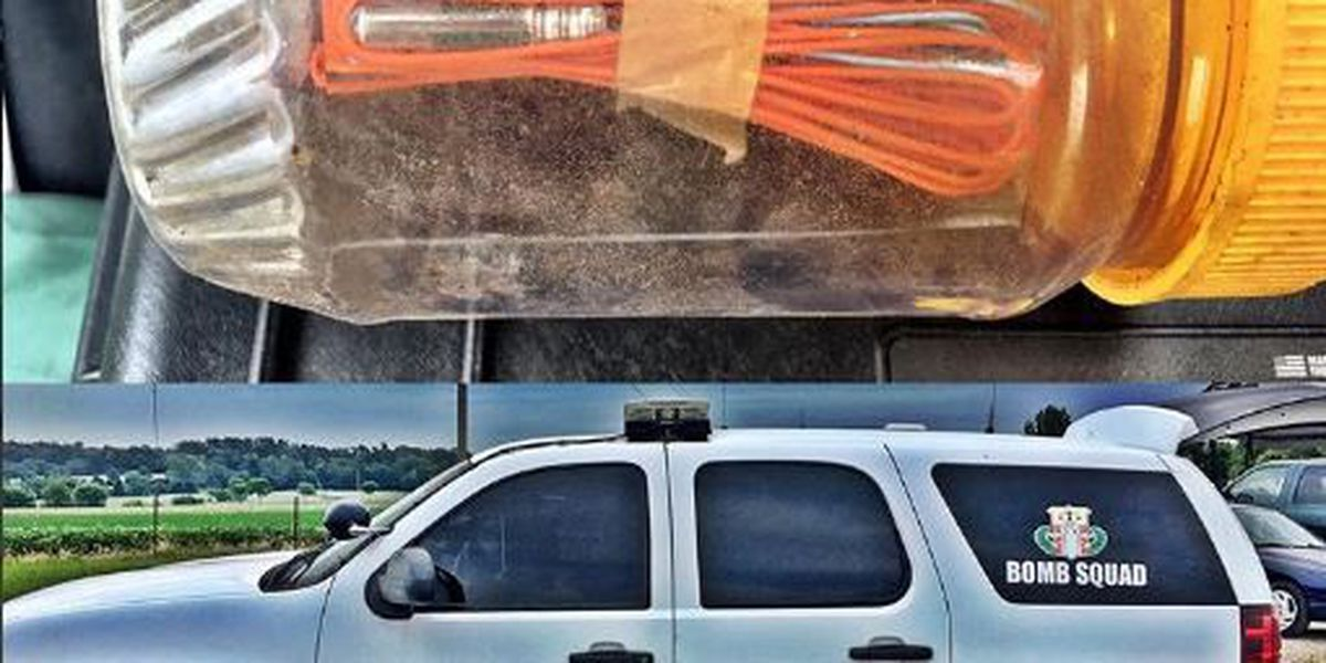 Blasting cap found in Cape Girardeau Co.; rendered safe by bomb squad