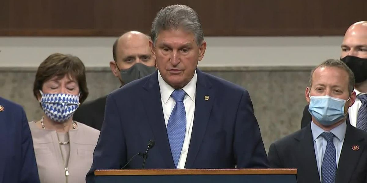 Manchin makes case for virus aid proposal