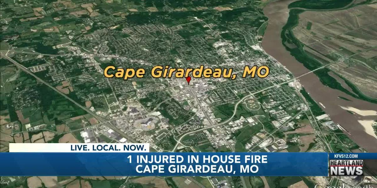 1 sent to hospital for minor burns after residential fire in Cape Girardeau