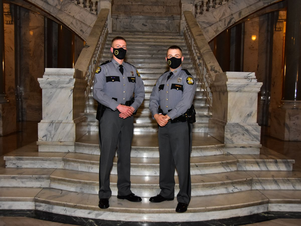 Kentucky State Police Post 16 welcomes 2 new troopers