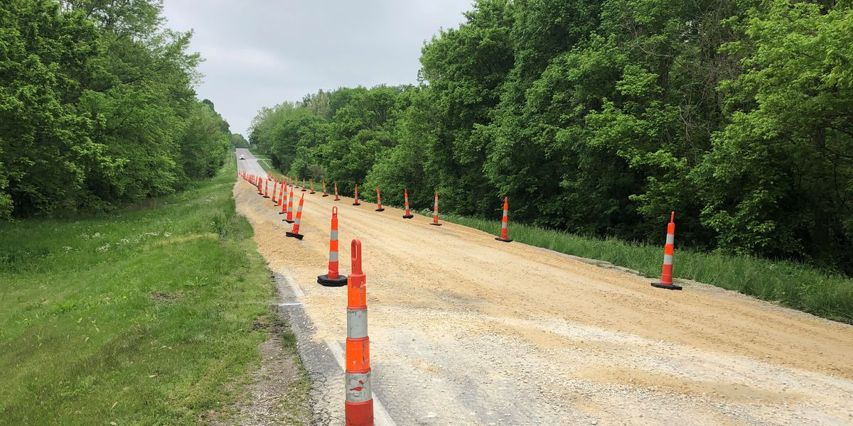 Crews elevate Route 177 to avoid flooding