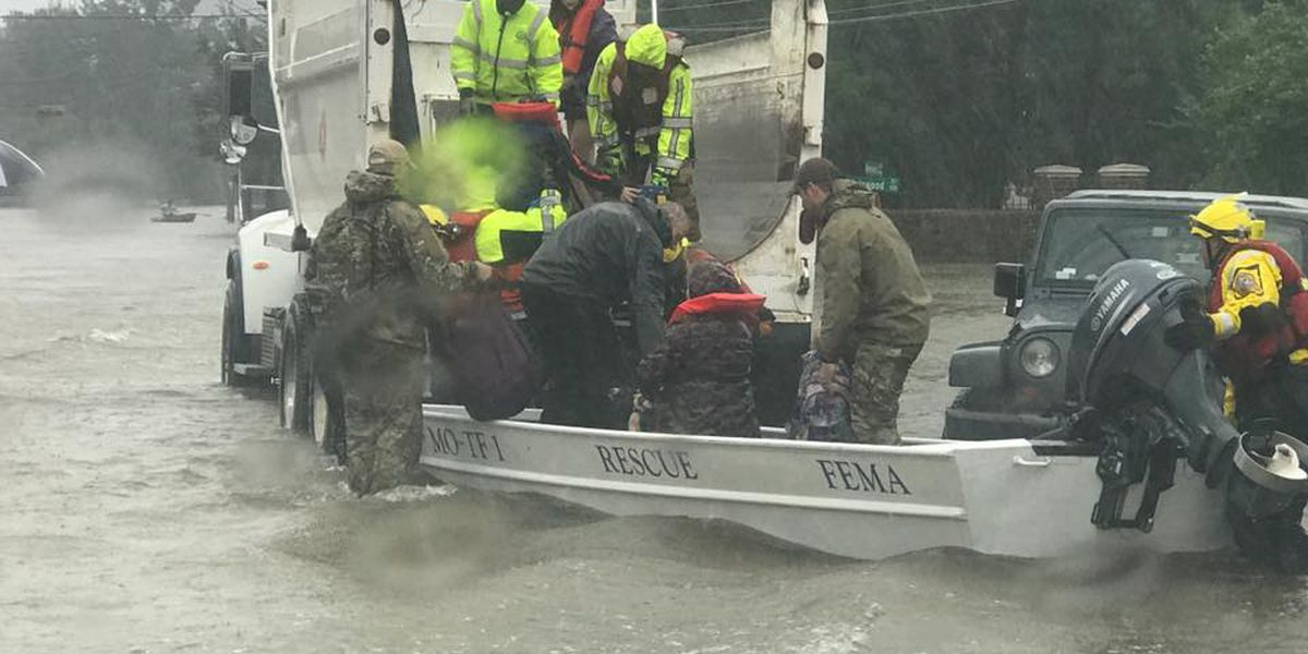 Missouri Task Force returns home from Hurricane Harvey relief efforts in TX