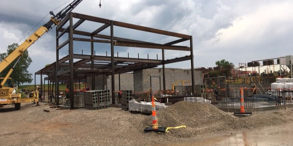 Jackson police station expected to be finished May 2020