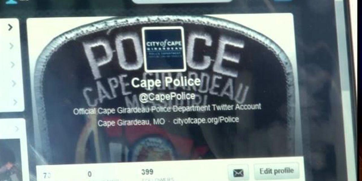 'Tweetalong' with the Cape Girardeau PD