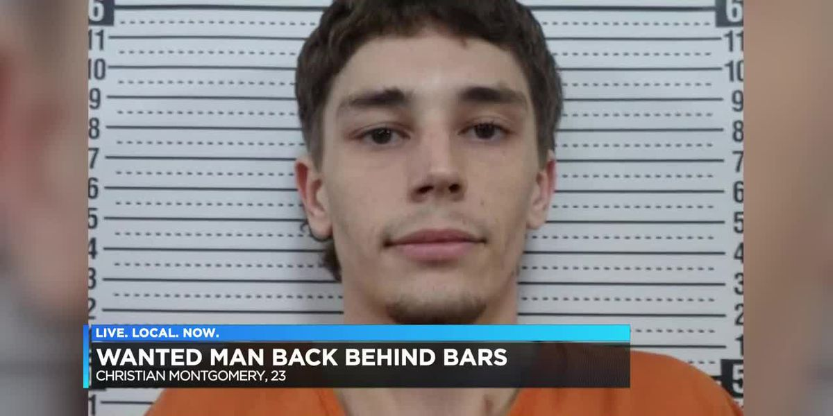 Scott county man back behind bars