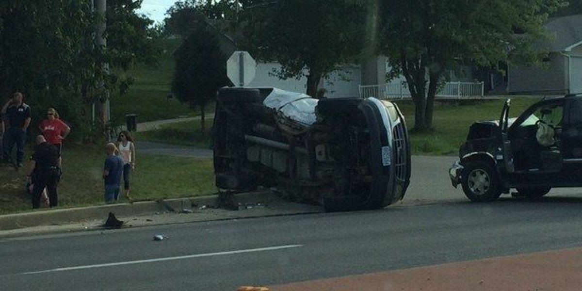 Multi-vehicle crash in Jackson, MO