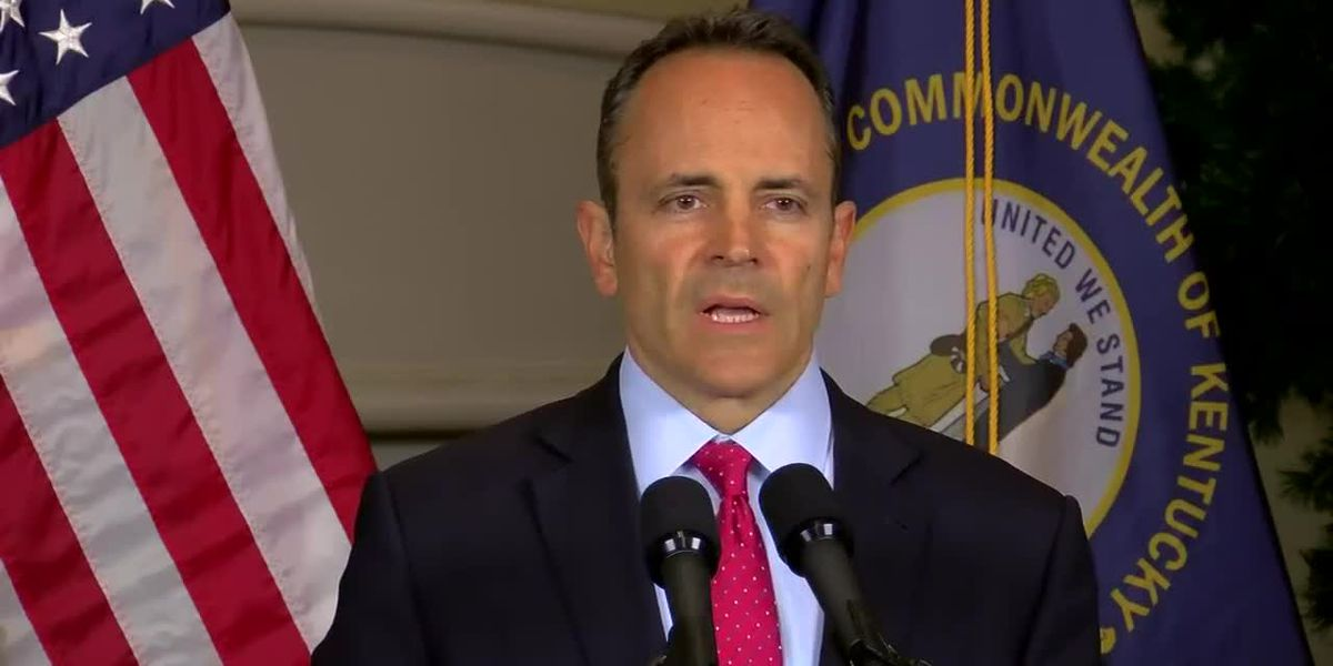 LIVE: Gov. Bevin to hold news conference at 1:15pm