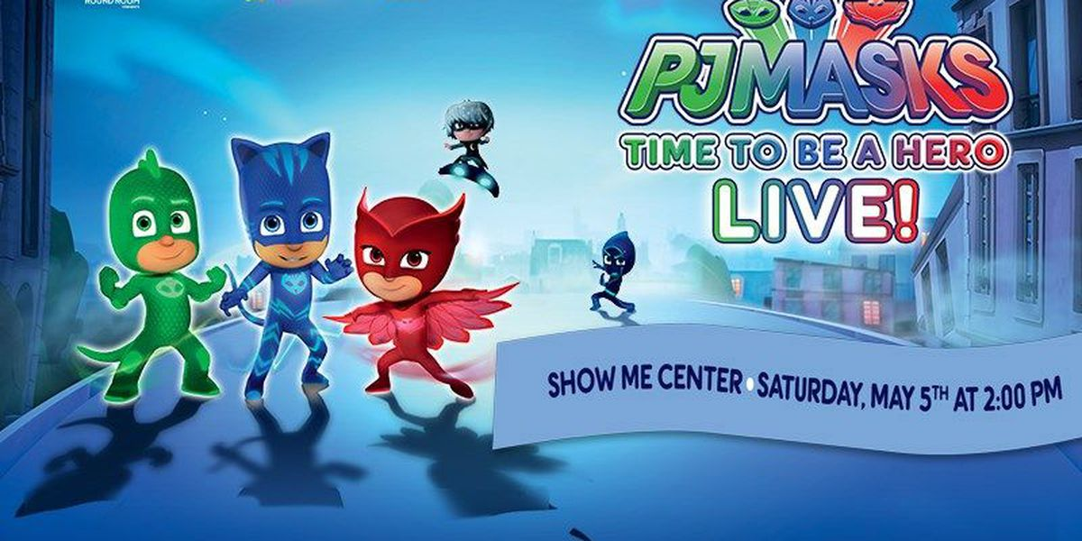 PJ Masks set to save the day LIVE in Cape Girardeau