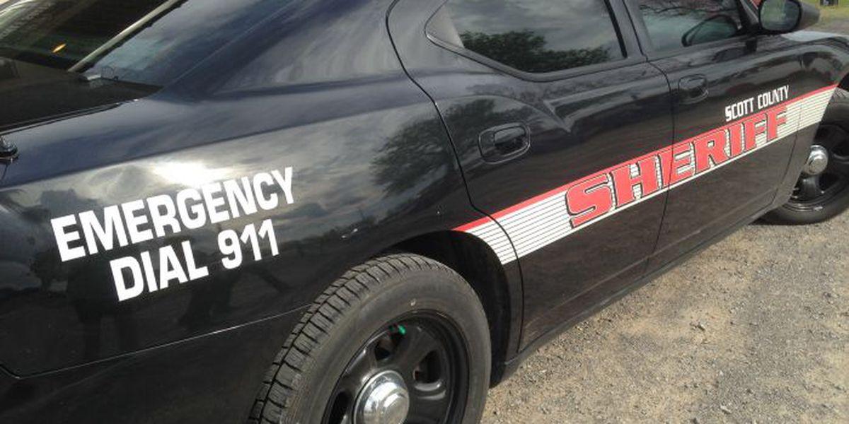 Scott County Deputy crashes vehicle during chase