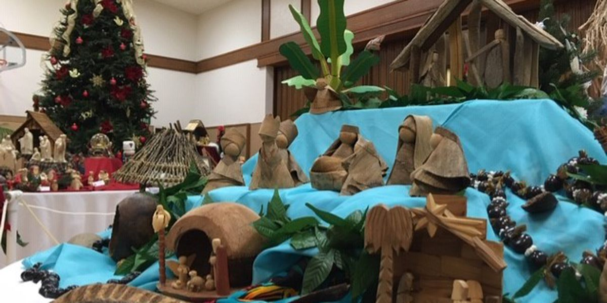 Heartland church displays 600+ nativity scenes
