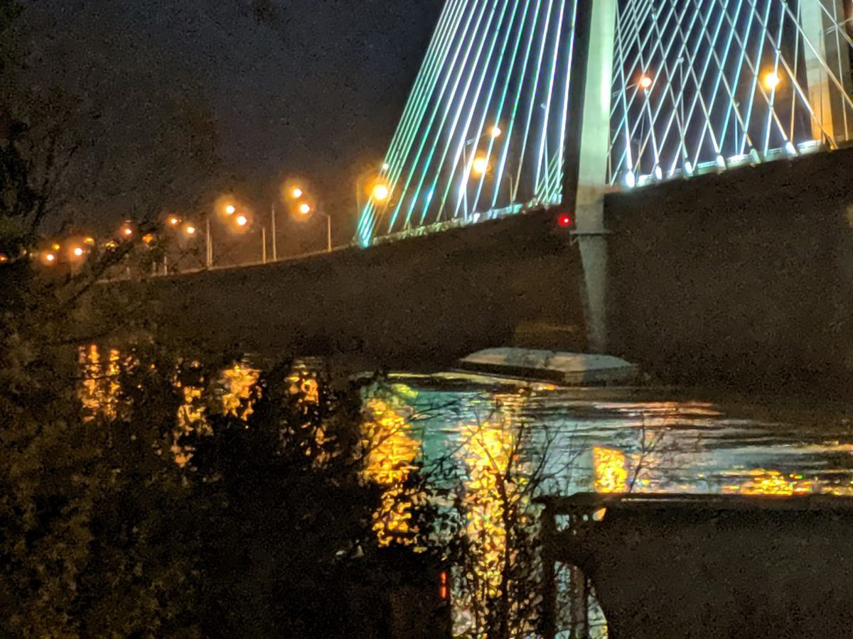 Bill Emerson Memorial Bridge reopens after being hit by barge