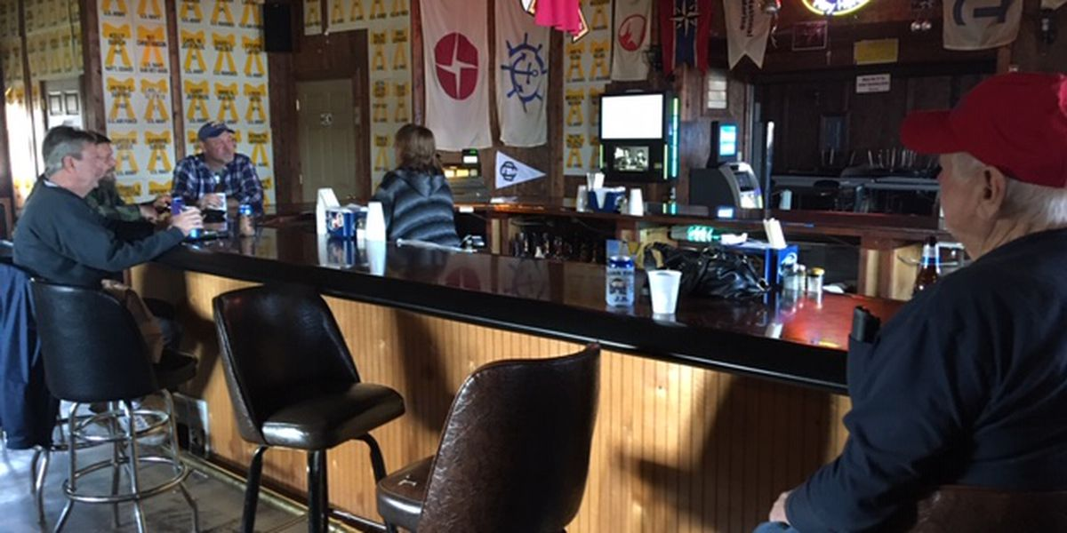 Lone business in Heartland community excited for receding floodwaters