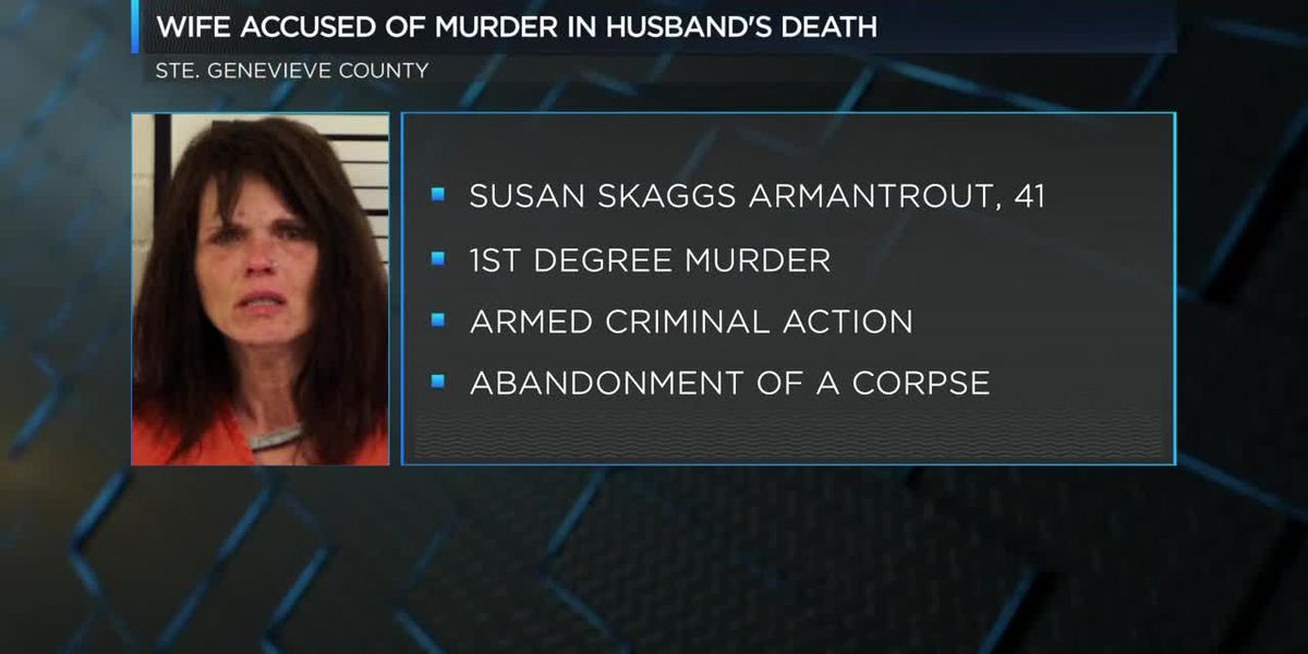 Wife accused of murder in husband's death