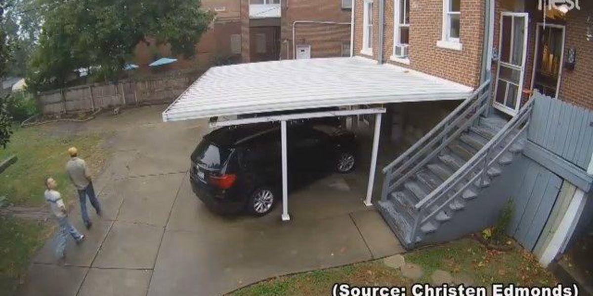 VIDEO: Police investigating stolen car in Cape Girardeau, MO