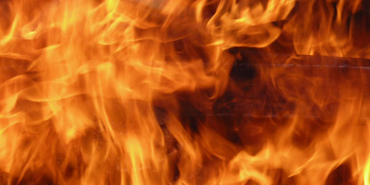 Firefighters respond to garage fire in Elkville, Ill.