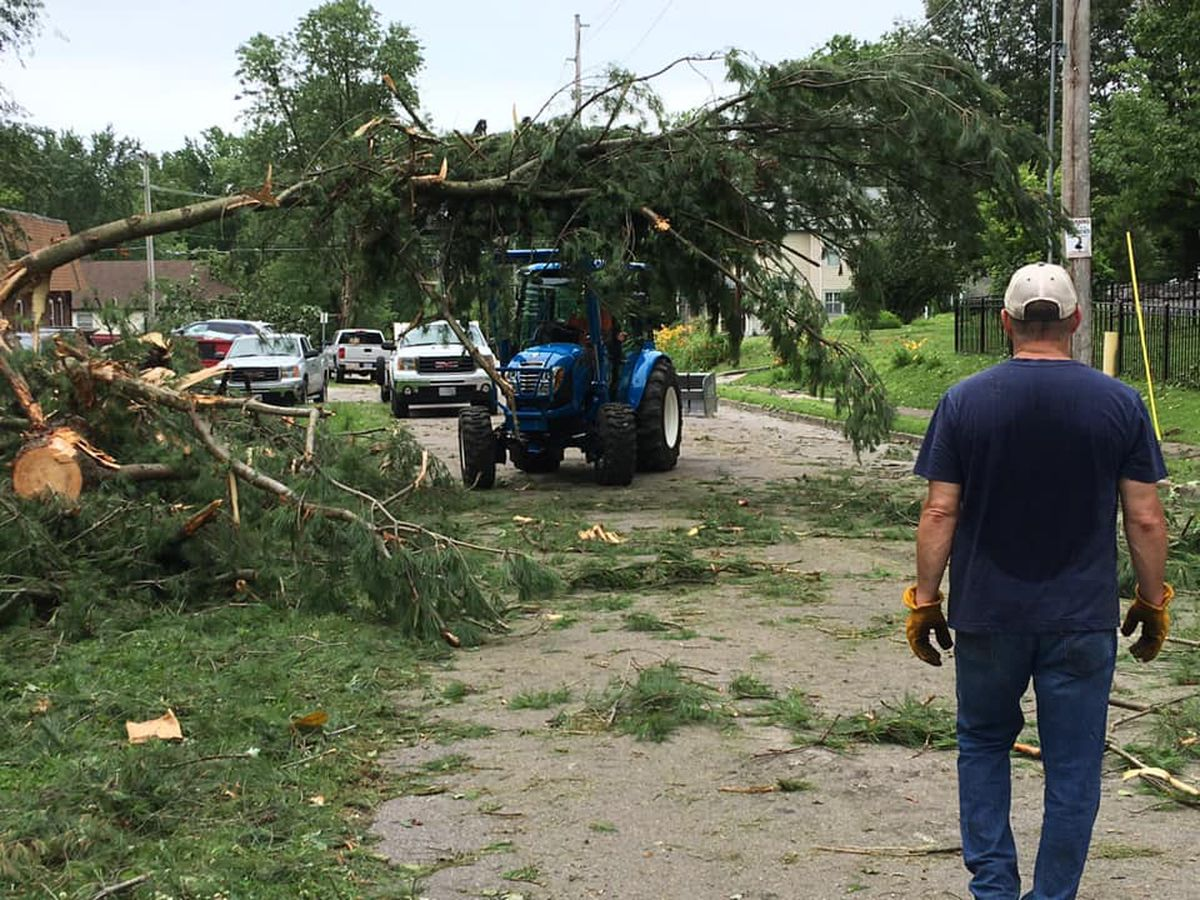 Storm clean-up information for Jackson, Mo. residents