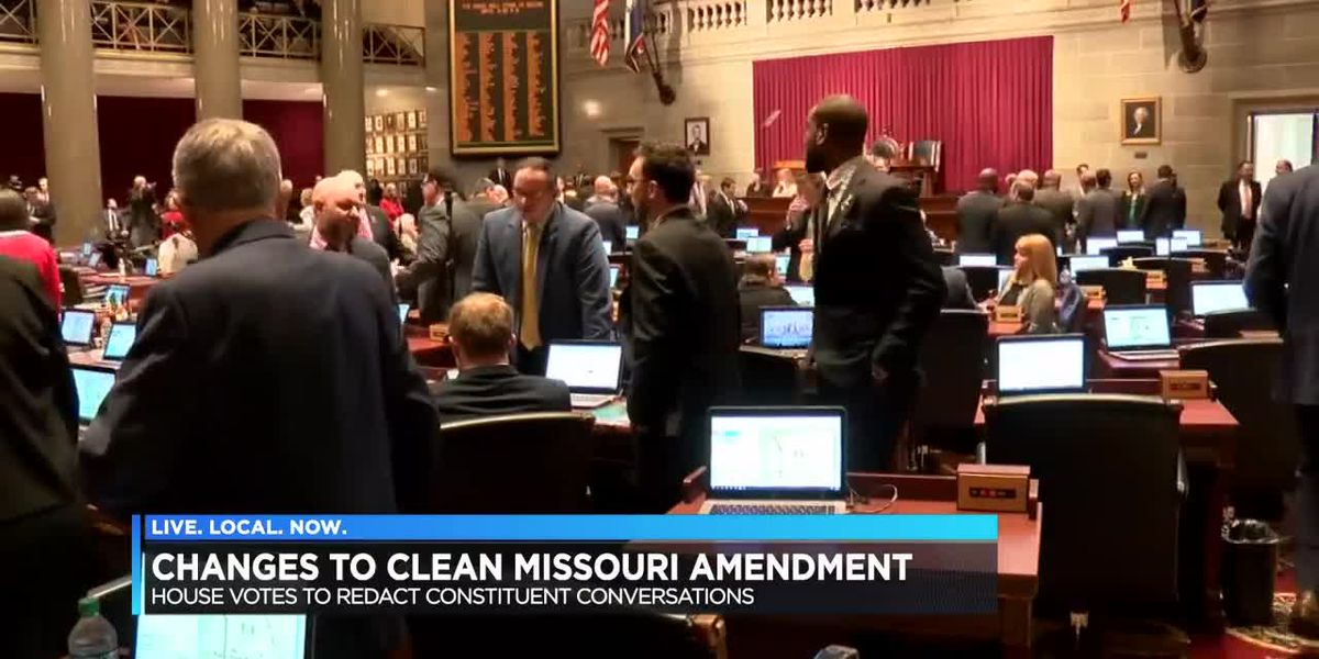 Changes made in how the public can access from lawmakers in MO