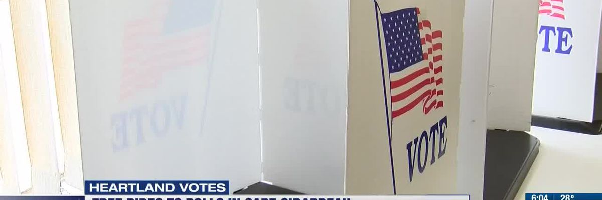 Church offers free rides to the polls
