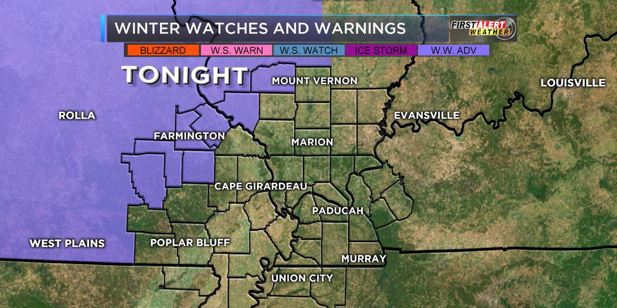 FIRST ALERT: Light mix possible overnight
