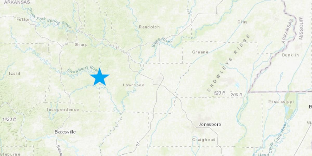 Multiple quakes rattle near Arkansas/Missouri border