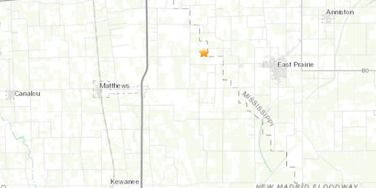 Earthquake in southeast Mo. measures 2.5