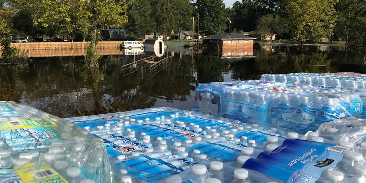 Donations from southern IL distributed to Harvey victims