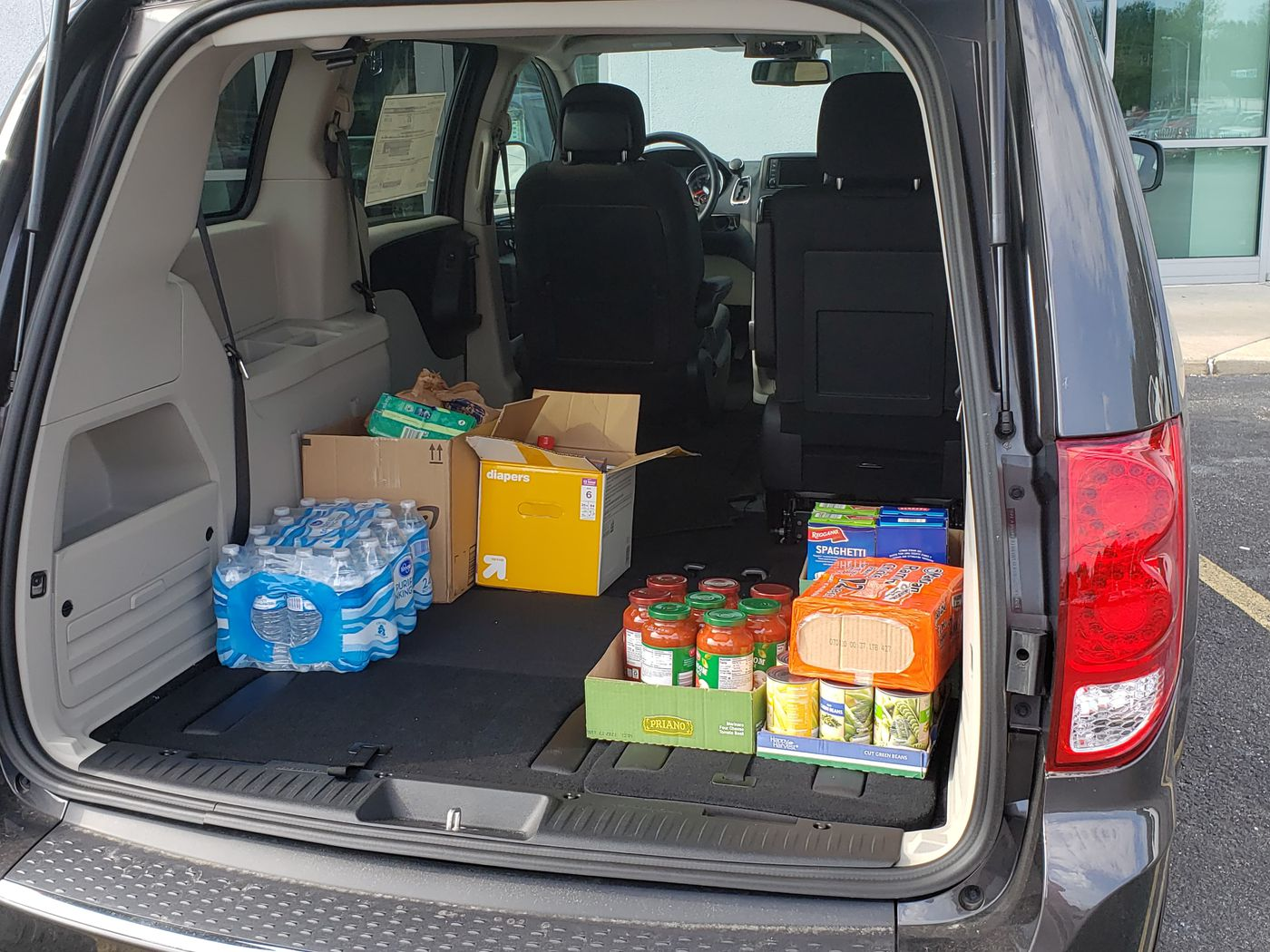 businesses asking to help fill several vehicles with supplies to help flood victims supplies to help flood victims