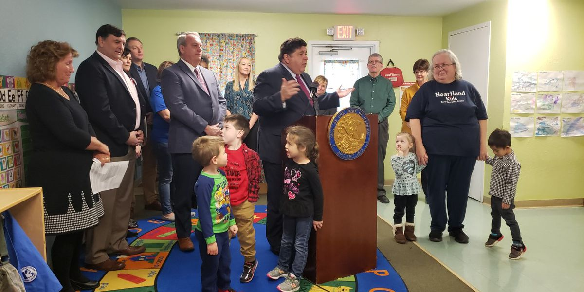 Gov. Pritzker meets with early childhood, education experts in Marion