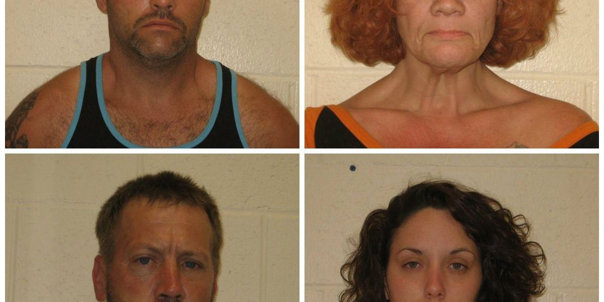 4 arrested after burglaries in West Frankfort, IL