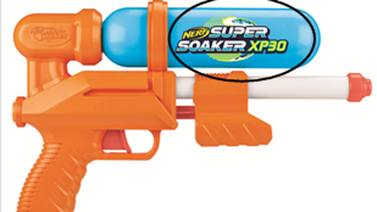Nerf Super Soaker water blasters being recalled by Hasbro Inc.