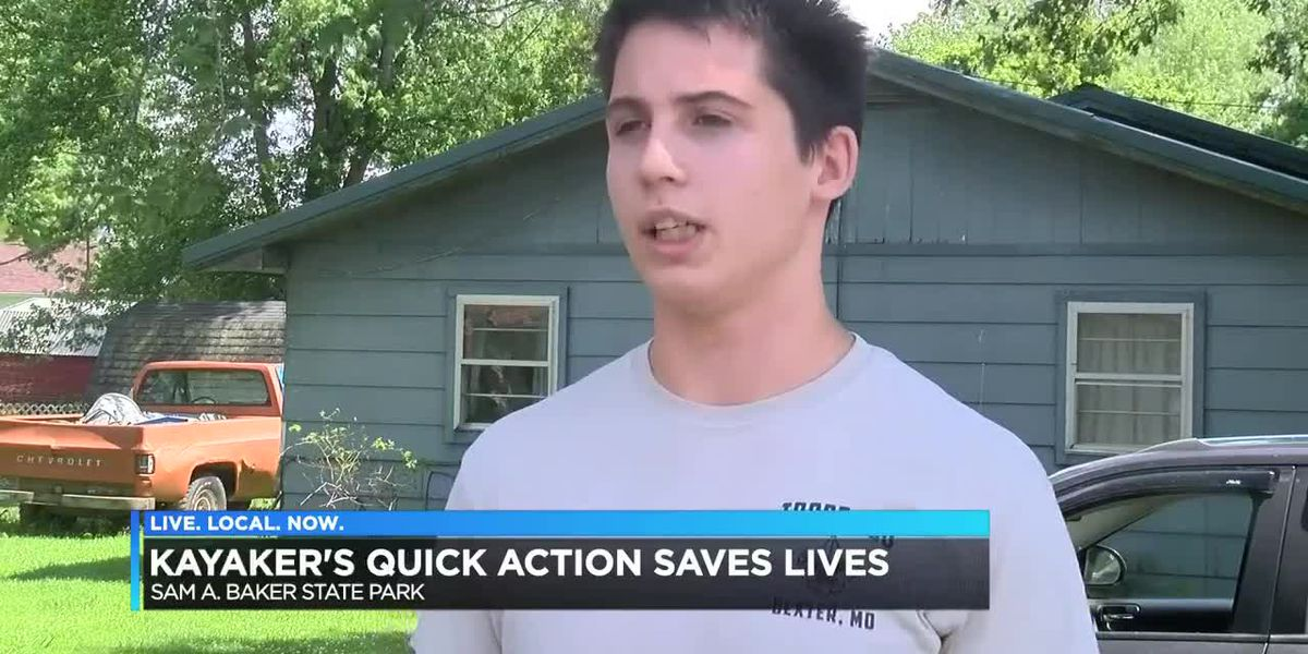 Heartland boy saves family from almost drowning