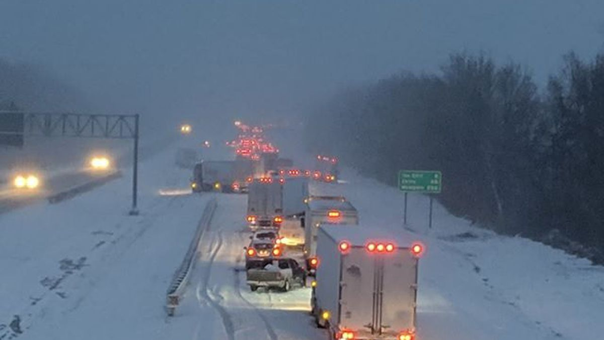 Check road conditions before you leave the house 1/22